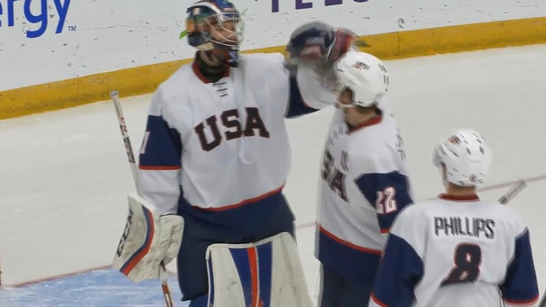 Hockey Canada - WJAC: USA 5-RUS 0 Post-Game (SF)
