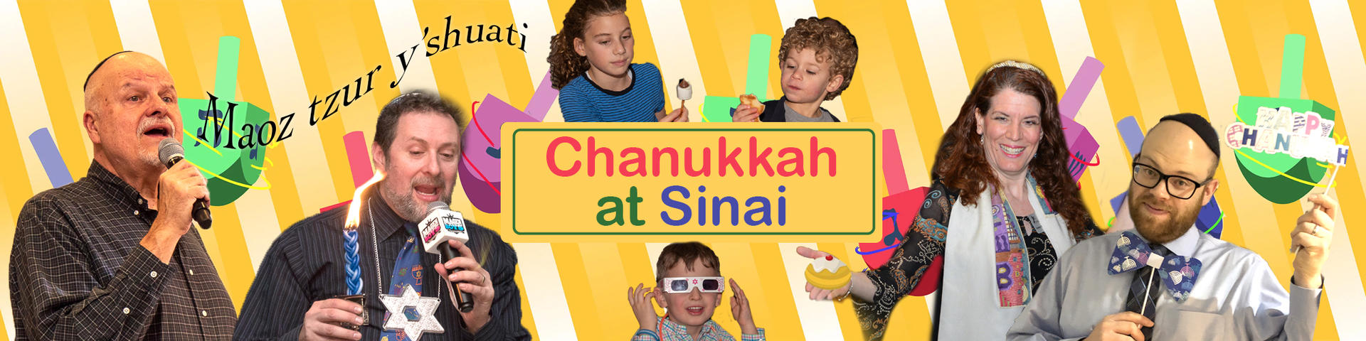 Eight Illuminating Days of Chanukkah with Sinai